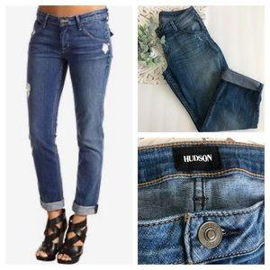 Hudson Jeans Bacara Crop Straight Cuffed Size 29